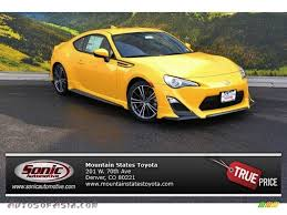 scion yellow 2015 scion fr s release series 1 0 in rs 1 0 yuzu yellow 707008