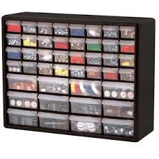 Hardware Storage Cabinet Akro Mils 10744 Hardware Storage Cabinet 44 Drawer Sturdy Plastic