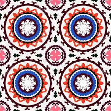 Turkish Home Decor Texture With Uzbek Turkish And Kazakh Motifs For Web Print