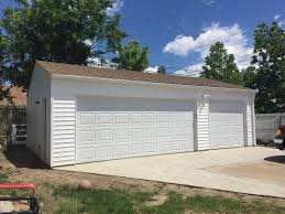 3 car garage door photo gallery shannonwood garage builders cleveland ohio