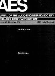 AES E Library  plete Journal Volume 43 Issue 7 8