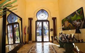 Moroccan Interior Villa In Miami With Dramatic Moroccan Architecture Idesignarch