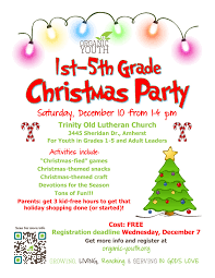 1st 5th grade christmas party u2013 organic youth