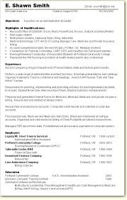Resume Example For Administrative Assistant 9 best resumes images on pinterest resume examples sample