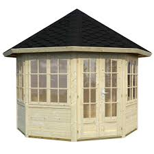 8 Sided Wooden Gazebo by 6 Sided And 8 Sided Pavilion Summer Houses Double And Single Glazed
