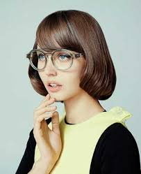 Bob Frisuren Mit Pony Und Brille by Twenty Chic Bob Frisuren Mit Pony Frisur Frisuren