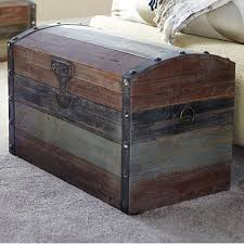 large weathered wooden storage trunk reviews birch