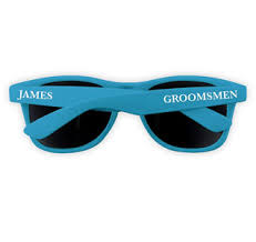 personalized sunglasses wedding favors new wedding favors