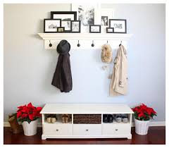 how to create entryway bench with coat rack u2014 modern home interiors