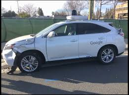 lexus cars 2009 watch google u0027s self driving lexus crash into a california bus