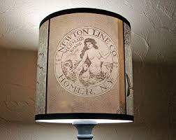 Lamp Shades Etsy by Shark Lampshade Etsy