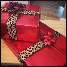 fancy christmas wrapping paper leopard print christmas wrapping paper festival collections