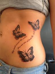 butterfly tattoos u2013 ideas for the choice of freedom lovers