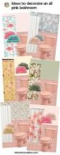 Pink Tile Bathroom Pink Tile Bathroom Decorating Ideas Home Interior Decorating Ideas