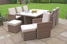 Grey Rattan Outdoor Furniture by New Rattan Garden Furniture Sofa Table Chairs Grey Patio Intended