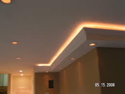 custom lighting in soffits we built soffit with crown mol u2026 flickr