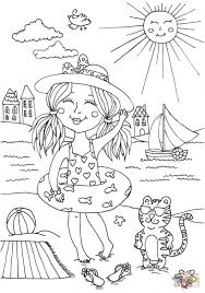 peppy in july coloring page free printable coloring pages