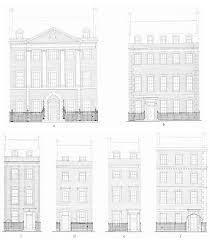 Georgian House Plans The Architecture Of The Estate The Early Buildings British