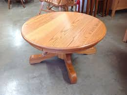 Handcrafted Wood Tables Round Pedestal Coffee Table Norman U0027s Handcrafted Furniture