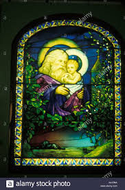 Louis Comfort Tiffany Stained Glass Louis Comfort Tiffany Art Work Father Christmas Christmas Eve