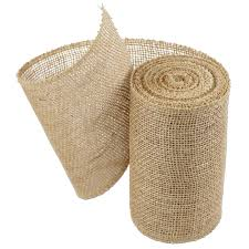 wholesale burlap ribbon burlap ribbon 6 x 10 yards serged edges 126 02