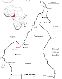 Map Of Cameroon Contemplating Collaboration Traditional Medicine Biomedicine