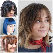 flattering bob haircuts with bangs 2017 haircuts hairstyles and