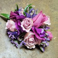 purple corsage lavender luxurious corsage in davis ca strelitzia flower company