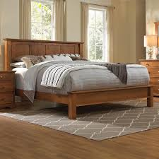 daniel s amish elegance solid wood king bed with low footboard