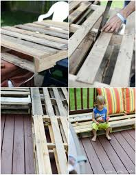 Outdoor Deck Furniture by Diy Pallet Furniture A Patio Makeover