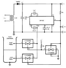 fluid level control schematic diagrams