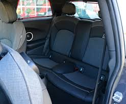how many seats does a 2015 mini cooper s rear seats