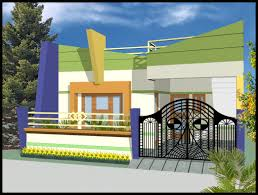 can i have front elevation for indian homes with single story