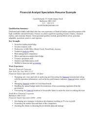 Pricing Analyst Resume Senior Treasury Analyst Resume Virtren Com