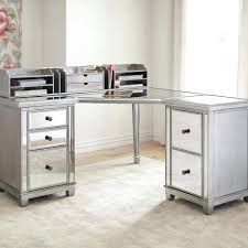 Mirrored Desks Furniture Desk 128 Beautiful Mirrored Bedside Table 3 Drawers Appealing