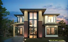 exclusive 3 level modern home plan 64100cal architectural