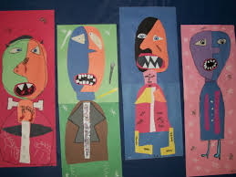 Monsters For Halloween by Picasso Monsters In Art Welcome To Mrs Ferguson U0027s Class