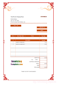 473106372636 receipt free word free excel invoice templates