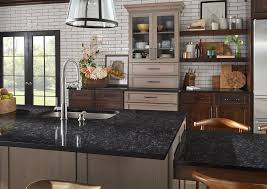 what color cabinets match black granite black quartz countertops 9 stunning design ideas for your