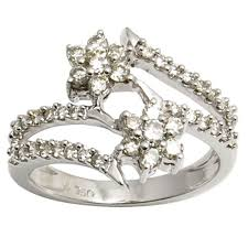 real diamond engagement rings real diamond engagement rings at rs 45000 diamond rings