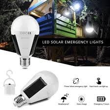 emergency lighting battery life expectancy portable 7w solar led light bulb home emergency lighting outdoor
