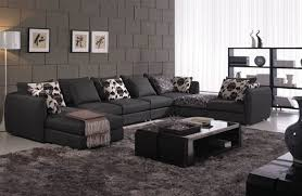 Black Microfiber Sectional Sofa Spacious Black Microfiber Sectional Sofa Set Maine 3 409 00