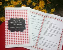 program paper event programs etsy