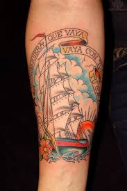 34 best ship forearm tattoos images on pinterest forearm tattoos