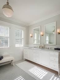 Hexagon Tile Bathroom Floor by Beautiful Gray Hexagon Bathroom Tile For Fresh Home Interior