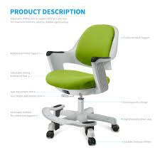 sitrite children chair for kids desk height control student study