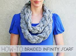 braided scarf the how to gal how to braided infinity scarf