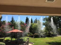 Patio Misting System Diy by 20 U0027 High Pressure Misting System Kit W Remote Control Pump 10