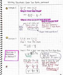 finding the equation of a line worksheet answers jennarocca