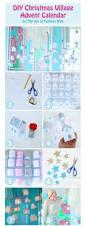diy christmas paper village advent calendar the joy of fashion